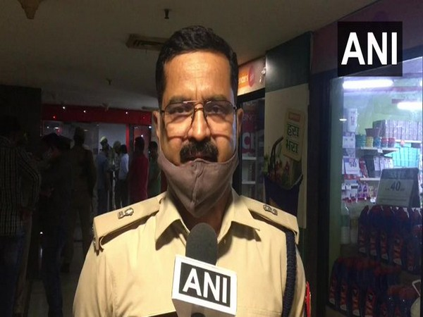 R Singh, Additional DCP Noida (Photo/ANI)