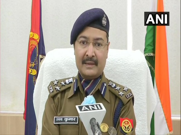 Love Kumar, Additional CP (Law and Order), Noida speaking to ANI on Saturday. (Photo/ANI)