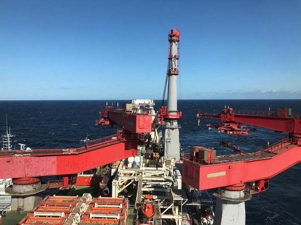 Russia's Nord Stream 2 project. (File photo)