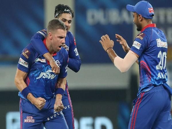 Delhi Capitals pacer Anrich Nortje. (Photo/ Sportzpics for IPL)