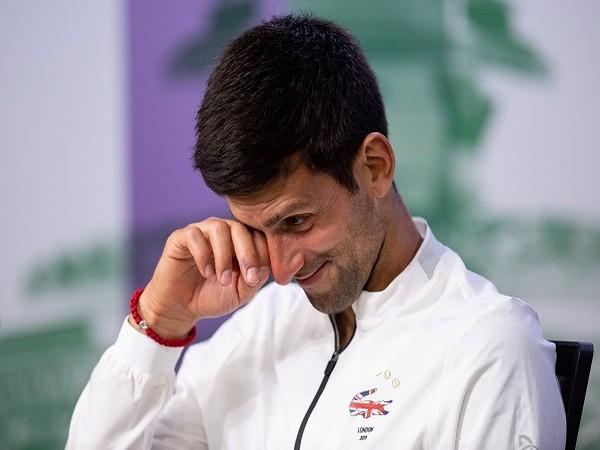 Serbian tennis player Novak Djokovic.
