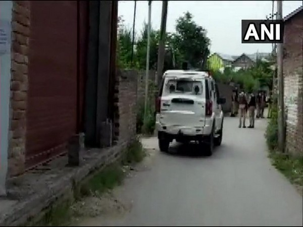 Visual from Nowgam area in Jammu and Kashmir. [Photo/ANI]