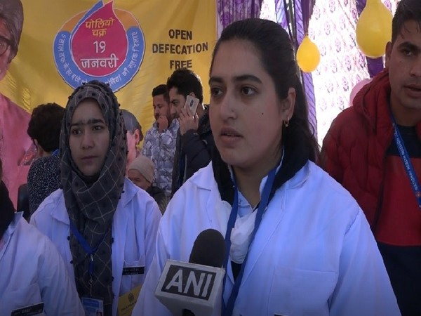Himani Bhagat, a nurse in district hospital Doda speaking to ANI on Sunday.