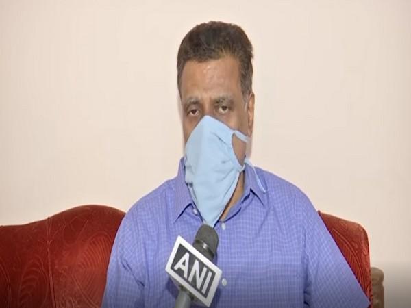 Spokesperson of BJP Telangana, NV Subhash (Photo/ANI)