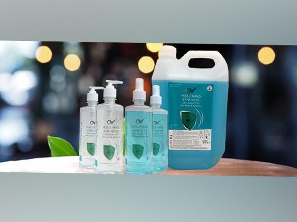 Yess 2 Hand Sanitizer Variants
