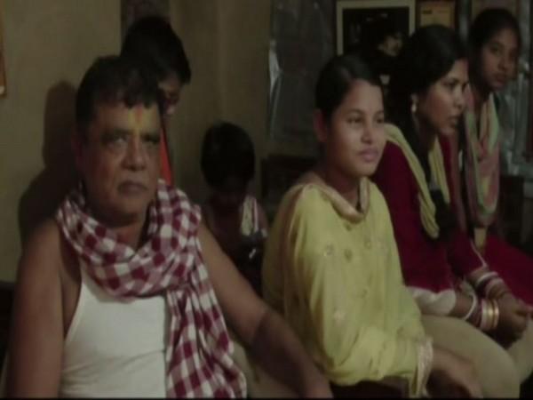 MoS Pratap Sarangi's family members at his native village in Odisha
