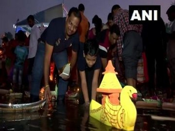 File photo of Kartik Purnima celeberations