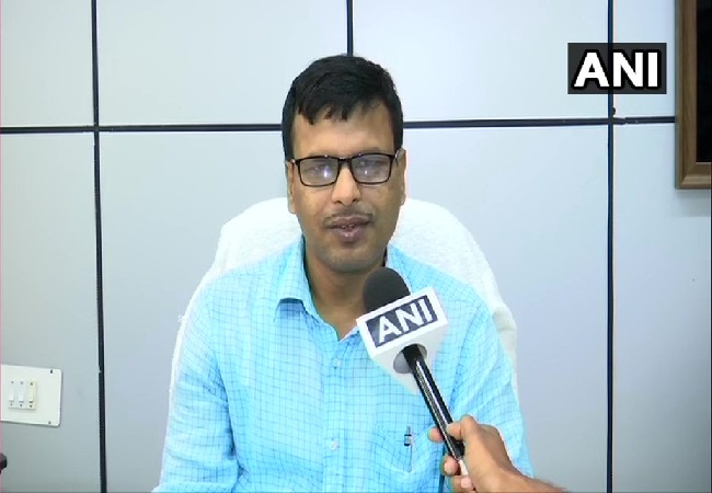 HR Biswas, Director, Bhubaneswar centre of IMD, speaking to ANI on Monday. Photo/ANI