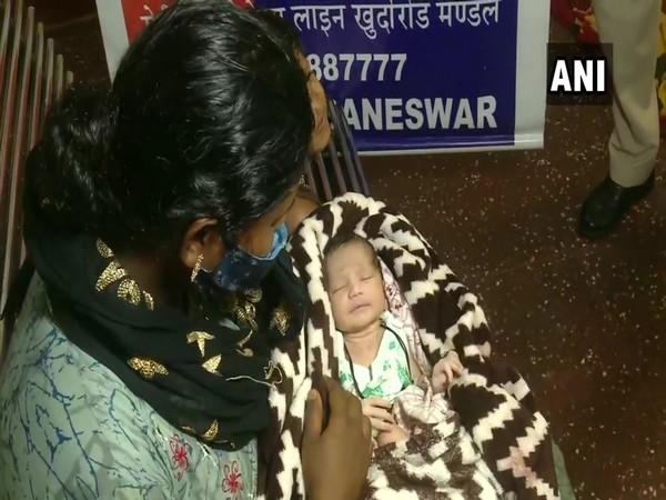 Mother of newborn, Ayesha with baby. (Photo/ANI)