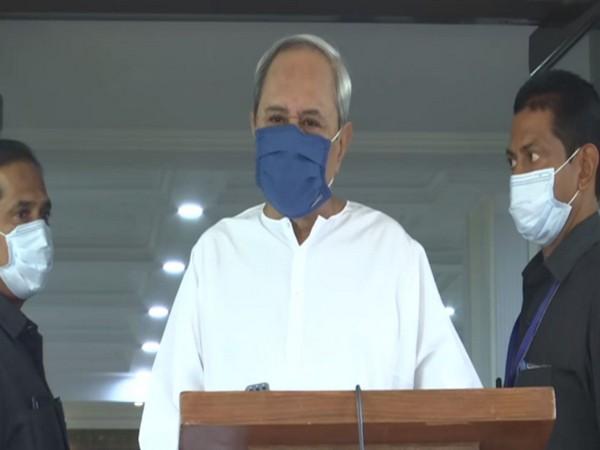 Odisha Chief Minister Naveen Patnaik in Delhi on Sunday. (Photo/ANI)