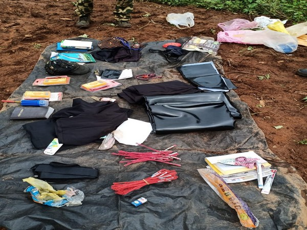 Special Operation Group team bust Naxal camp at Kandhamal district of Odisha. (Photo/ANI)