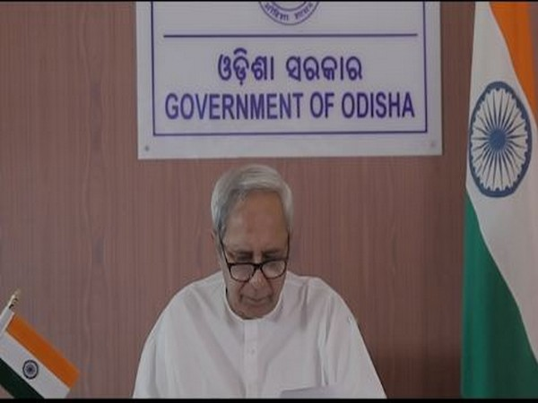Odisha Chief Minister Naveen Patnaik attended the technical workshop for Health personnel through video conferencing on Wednesday. Photo/ANI