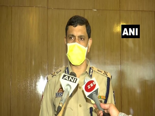 Bhubaneswar-Cuttack Police Commissioner S Sarangi speaking to media on Monday. (Photo/ANI)