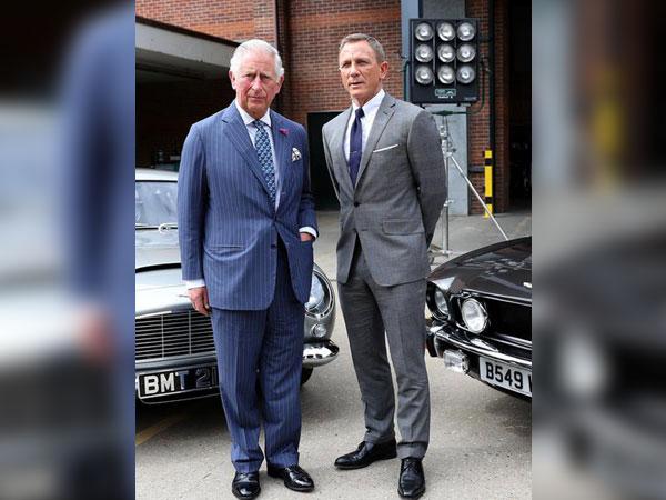 Prince Charles and actor Daniel Craig