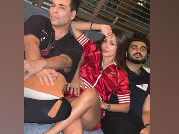 Karan Johar, Malaika Arora and Arjun Kapoor (Image Source: Instagram)