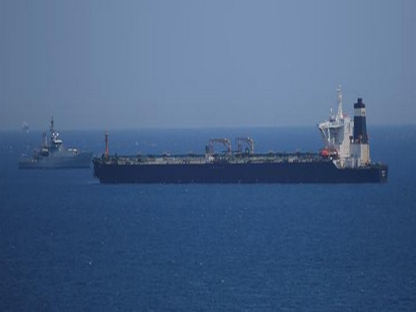 Iranian oil tanker seized by Britain's Royal Marines on Thursday.