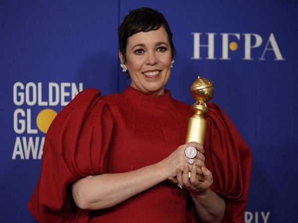 Olivia Colman wins Golden Globes for her performance in 'The Crown'