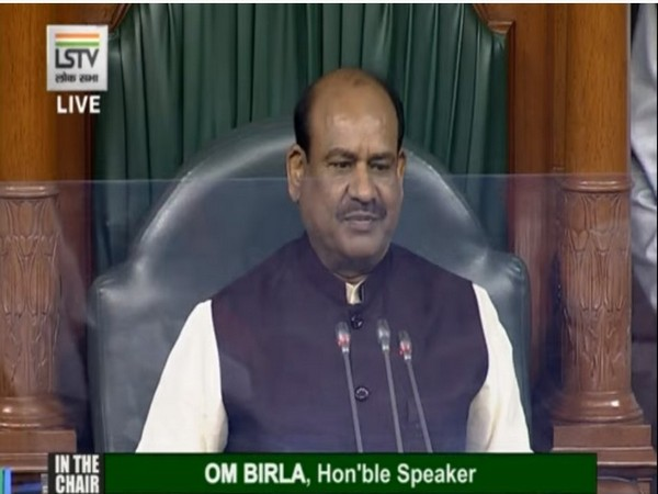 Lok Sabha Speaker Om Birla (Image Credit: Lok Sabha TV)