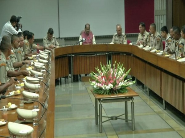 Lok Sabha Speaker OM Birla met CRPF trainee officers in New Delhi on Thursday