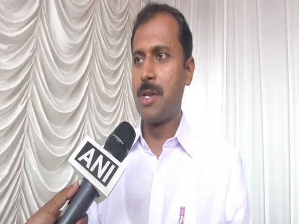Speaking on the occasion MLA Anoop Jacob. Photo/ANI