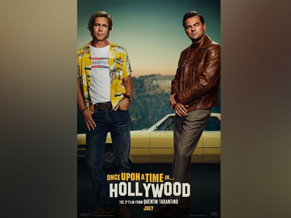 'Once Upon A Time In Hollywood' poster, Image courtesy: Instagram