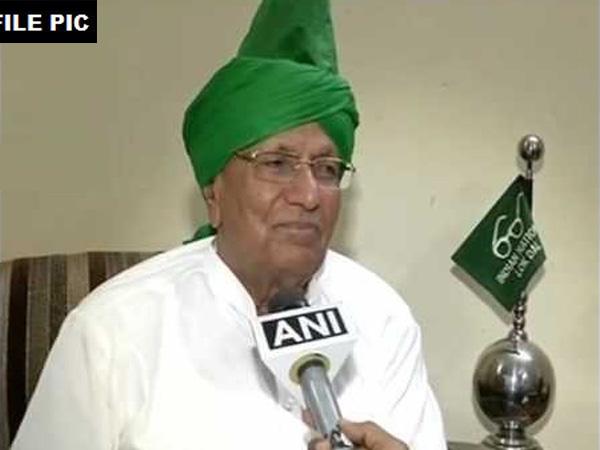 Former Chief Minister of Haryana, Chaudhary Om Prakash Chautala (File Photo)