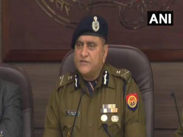 Director General of Police (DGP) OP Singh. Photo/ANI