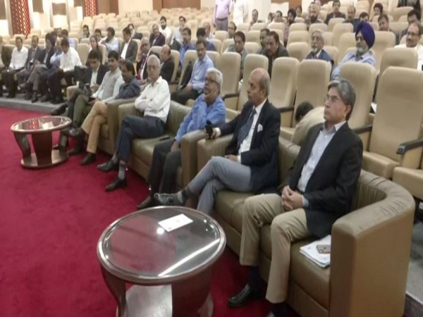 Participants at the TRAI's open house in New Delhi on Friday. Photo/ANI