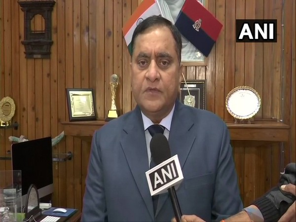 UP DGP OP Singh talking to ANI in Lucknow on Saturday