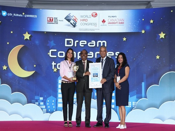 Opteamix ranked 11th Dream Company to Work at the 28th World HRD Congress. It also wins award for Best Innovative HR Practices and Best CSR Practices