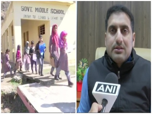 District Collectorate of Rajouri MA Asad while speaking to ANI in Rajouri, Jammu and Kashmir on Thursday. Photo/ANI