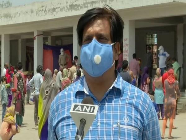 Avinash Tripathy, OSD, Noida authority, speaking to ANI on Monday. Photo/ANI