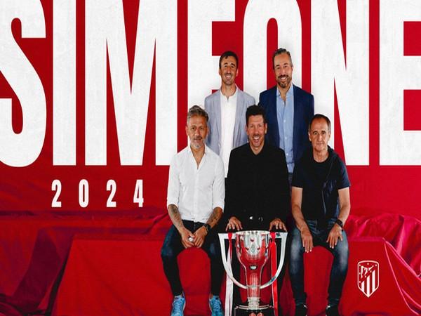 Diego Simeone (Photo: Atletico Madrid)