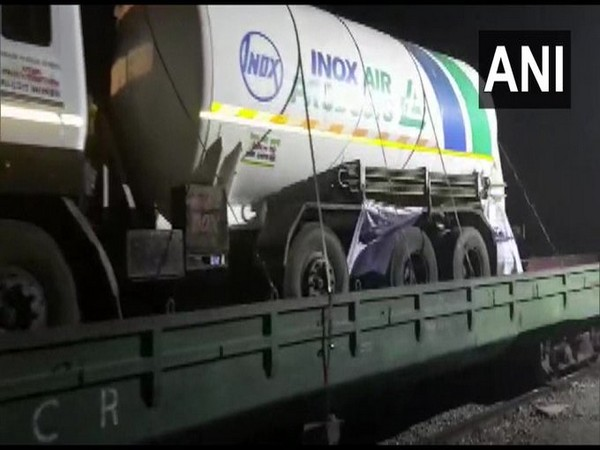 Roll On Roll Off (RORO) Oxygen Express is enroute to Maharashtra from Visakhapatnam in Andhra Pradesh.