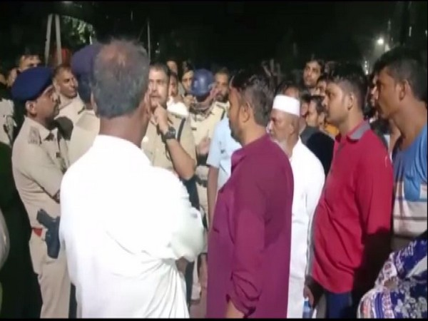 Clashes broke out outside the Patna University, probe underway [Photo/ANI]