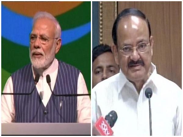 Prime Minister Narendra Modi and Vice President Venkaiah Naidu (File photo)
