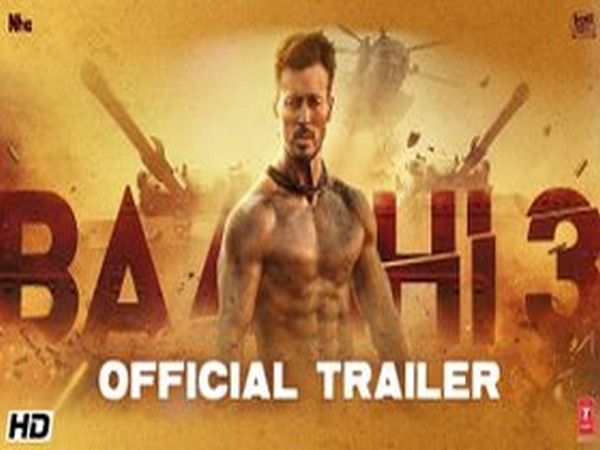 Tiger Shroff shares dynamic glimpse from 'Baaghi 3'