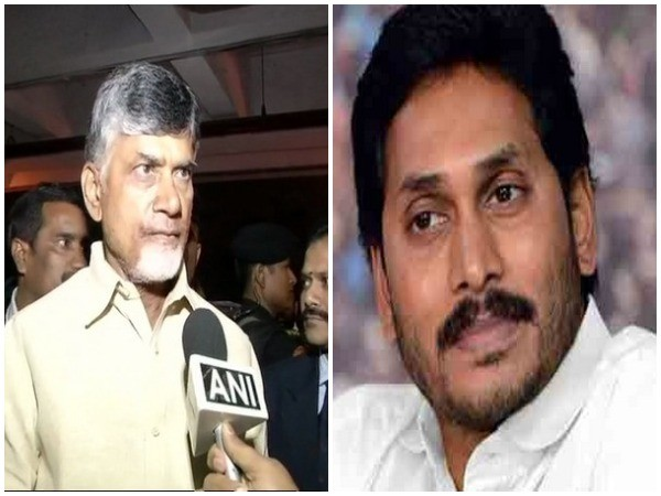 Andhra Pradesh Chief Minister N Chandrababu Naidu (left) and YSR Congress president YS Jagan Mohan Reddy (right). File pic