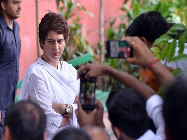 Congress General Secretary Priyanka Gandhi Vadra [Photo/ANI]