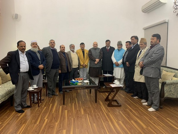 Union Home Minister Amit Shah and NSA Ajit Doval met delegation representing Pahari community in New delhi on Wednesday