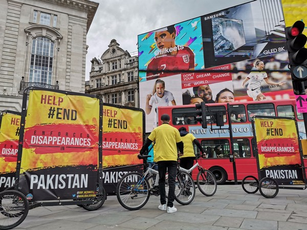 The campaign undertaken by Baloch organisations in London