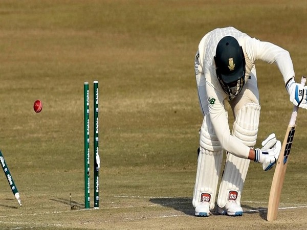 South Africa ended day two at 106/4 (Image: Pakistan Cricket's Twitter)