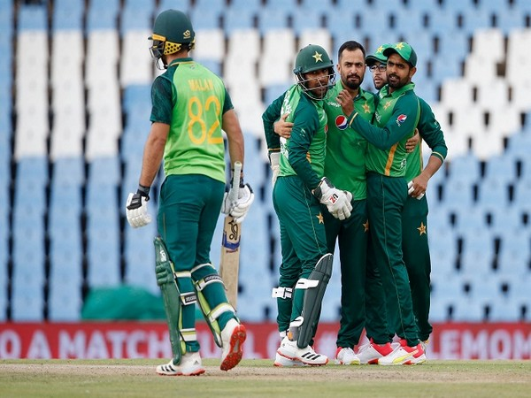 Pakistan players in action against South Africa (Image: ICC)