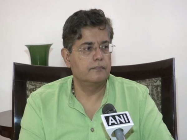 Baijayant Panda, national vice president of BJP talking to ANI in New Delhi on Wednesday