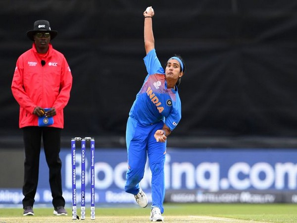 India pacer Shikha Pandey (Photo/T20 World Cup Twitter)