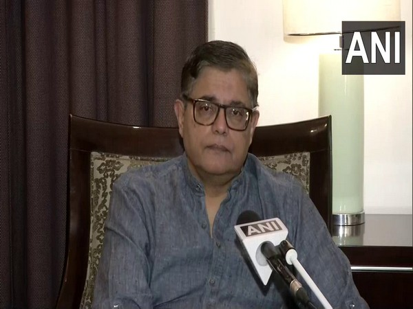 Assam BJP in-charge Baijayant Jay Panda speaking to ANI in New Delhi on Friday. (Photo/ANI)