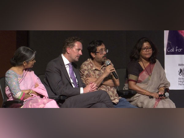 The panel marking the World Day against Trafficking in Persons 2019 in New Delhi on July 30 (Photo/ANI)