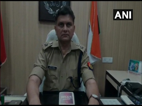 Pankaj Kumar, Superintendent of Police, speaking to ANI on Wednesday. (Photo/ANI)