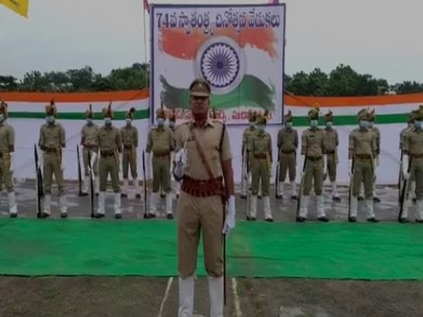 Minister For Panchayat Raj and Rural Development Peddireddy Ramachandra Reddy hoisted the national flag and received an honorary salute from the armed forces.