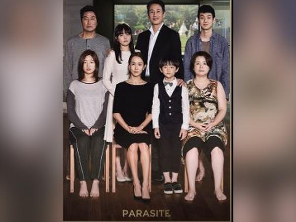 Poster of film 'Parasite' (Image Source: Instagram)
